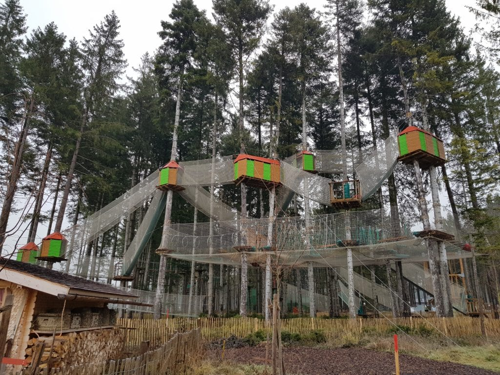 Center Parcs Allgäu: High Adventure Experience