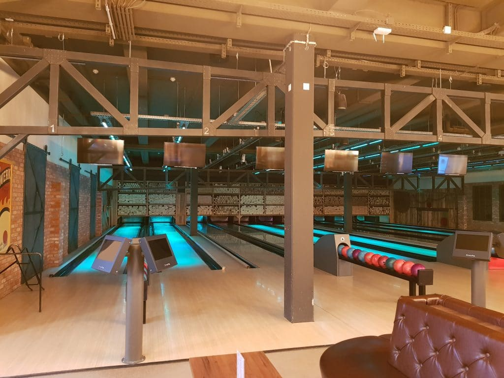 Center Parcs Allgäu: Interaktives Bowling